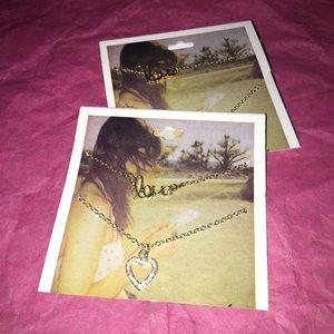 Best friend necklaces!💞💞